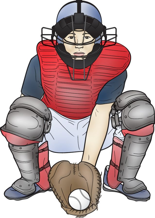 protective gear for baseball catcher