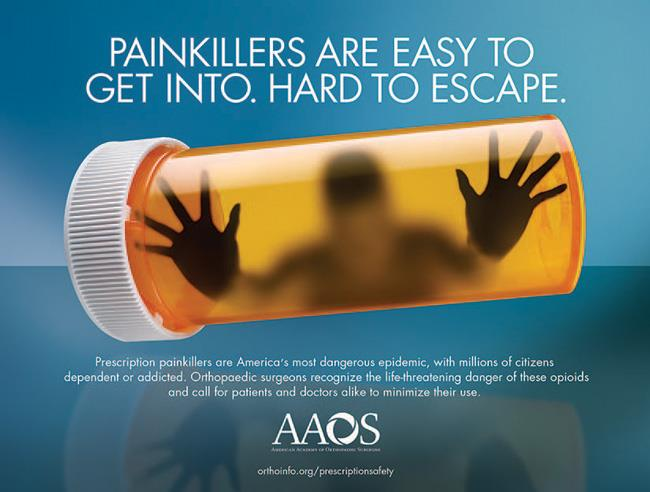 AAOS public service campaign on opioid safety